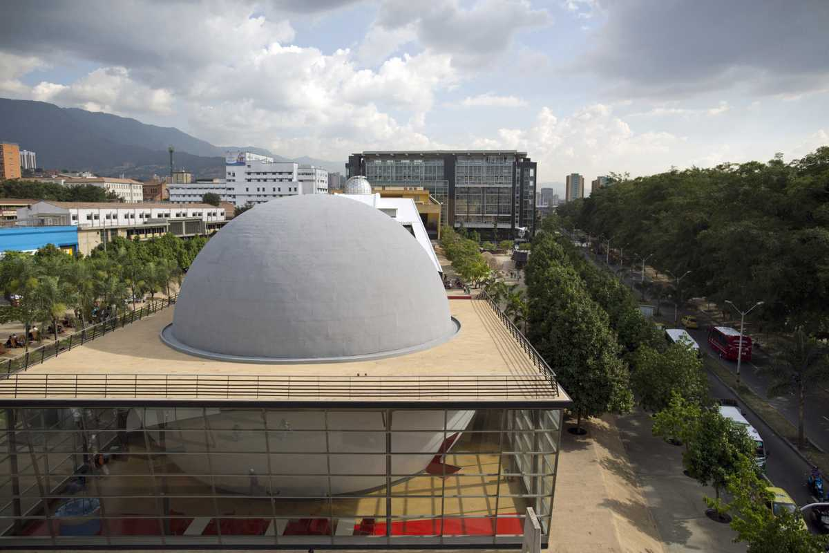 The city planetarium