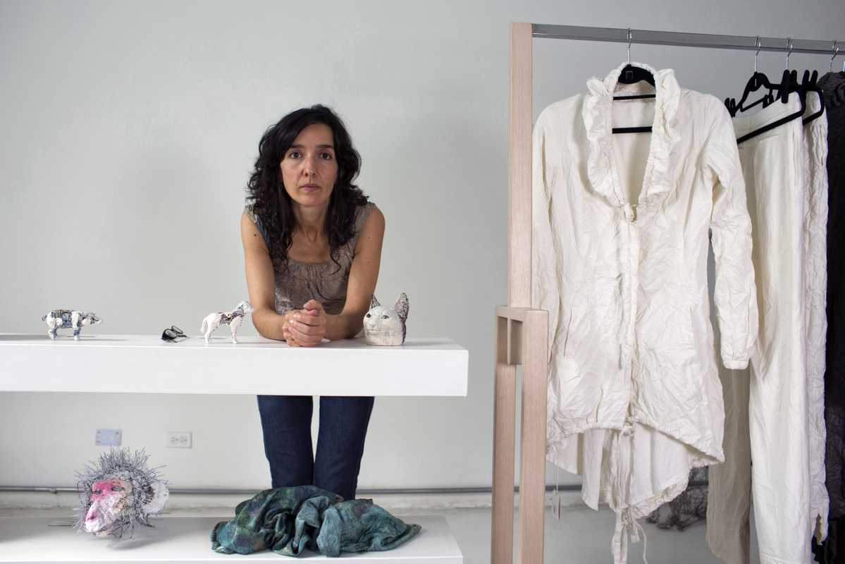 Juliana Correa, fashion designer at OnA