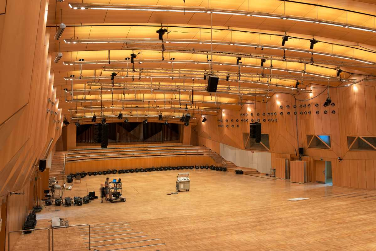 HR's Sendesaal studio, used for live concerts