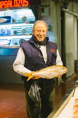 Ángel Mozos Ramírez with Serpeska's prize catch