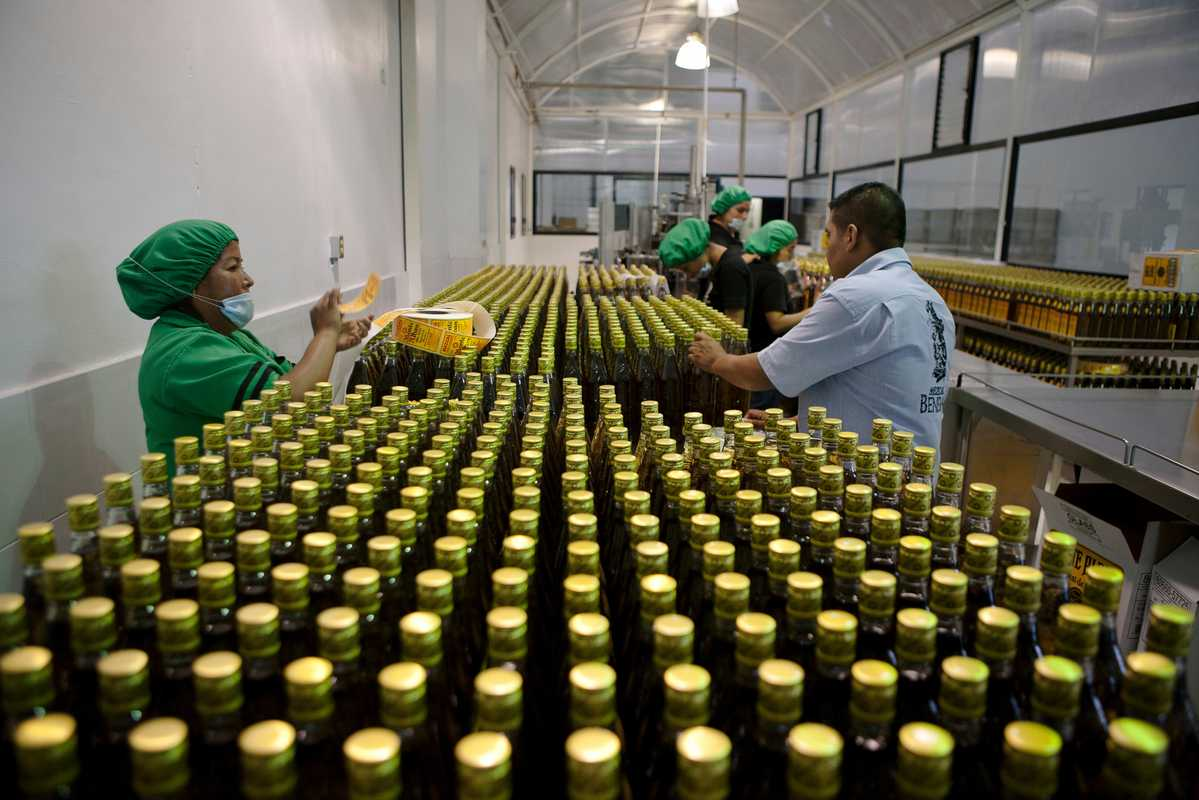 Beneva's bottling site