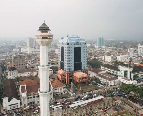 Bandung's Grand Mosque tower