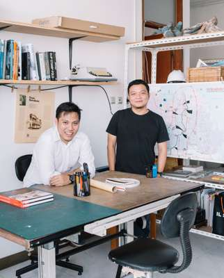 Erel Hadimuljono and Hermawan Dasmanto of Ara Studio