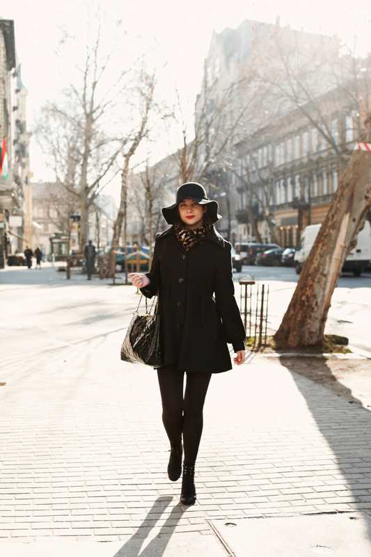 Anna Szilvia Feher, fashion blogger