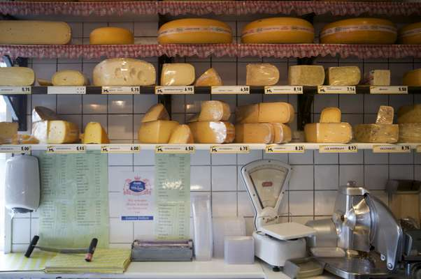 De Ridder cheese shop