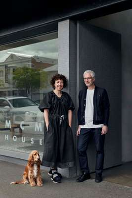 Studio Round co-founders Michaela Webb and Robert Nudds