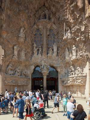 Gaudí's Nativity façade