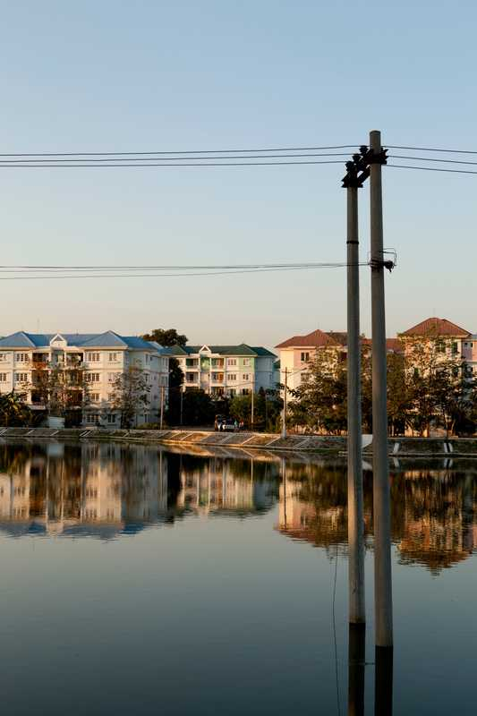 An apartment complex in Lal Way district in Naypyidaw
