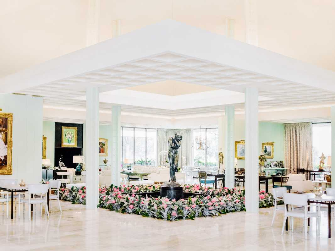 Interior at Sunnylands
