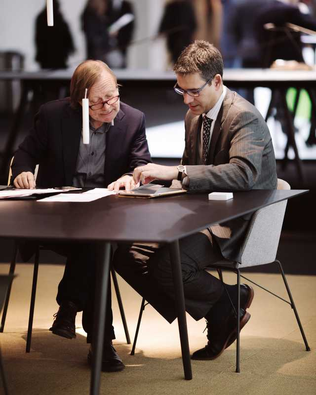 Making deals at IMM Cologne