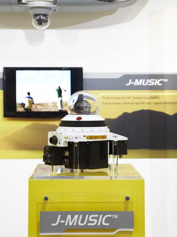 Elbit's J-Music is an infrared countermeasures system
