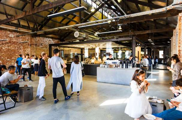Lune's new home in a converted warehouse