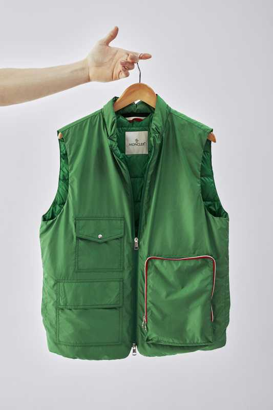 Down vest by Moncler