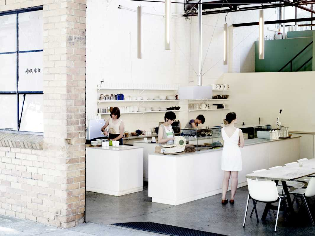 Mina-no-ie café, part of the Epatant concept store