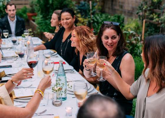 Cin-cin: Global supper clubs and rethought restaurants