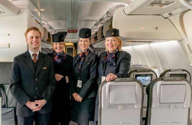 Icelandair flight attendants