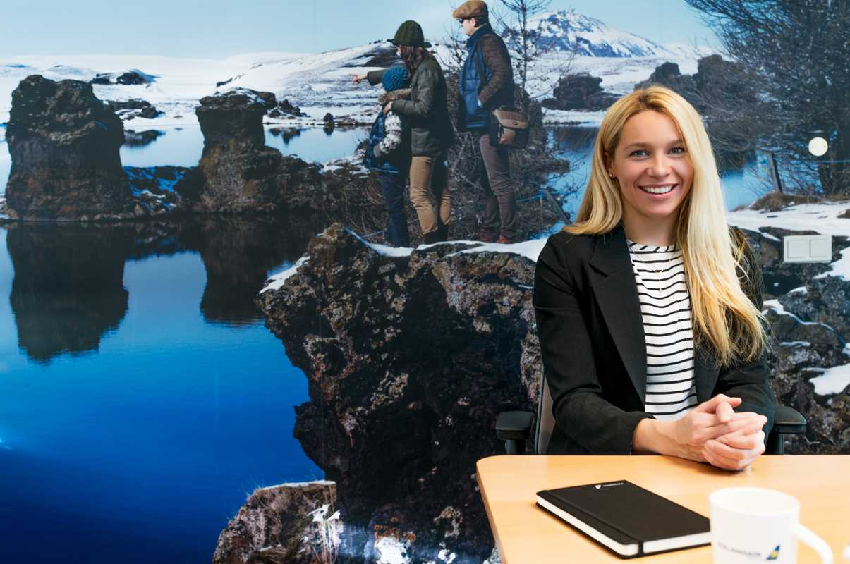 Thordis Anna Oddsdottir, director of onboard retail and service