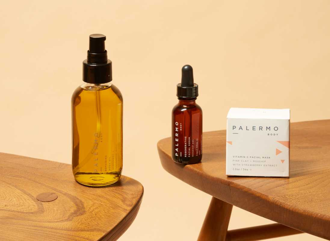 10 Bodycare products, Palermo Body