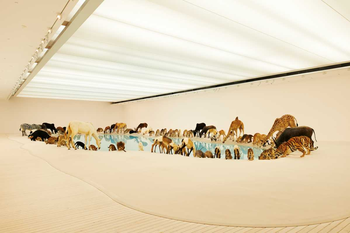 Cai Guo-Qiang's 'Heritage' installation