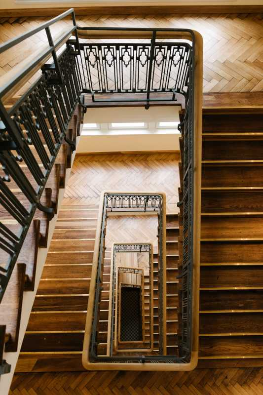 Beautifully renovated staircase