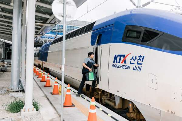 Testing the KTX bullet train