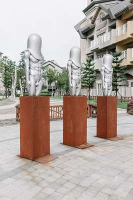 Statues at Alpensia Resort