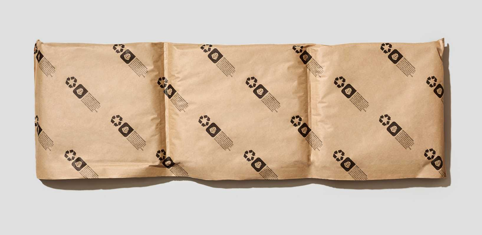 Fully recyclable paper-based insulator for perishable goods. temperpack.com