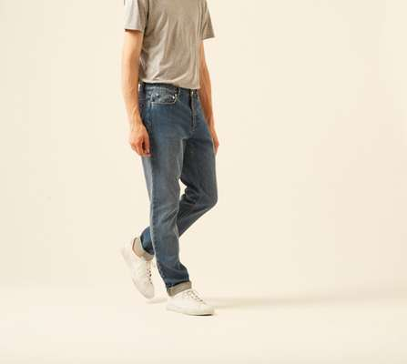 2. Jean baggy by APC (France)