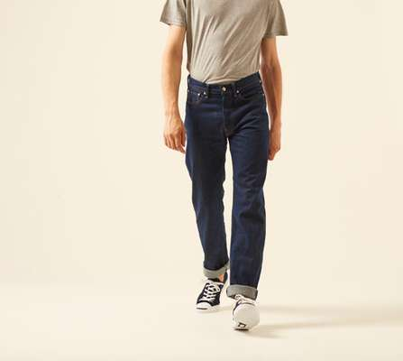 13. Organic cotton AI indigo denim by 45R (Japan)