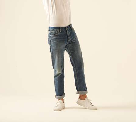 9. Social sculpture dry denim-6 by Visvim (Japan)