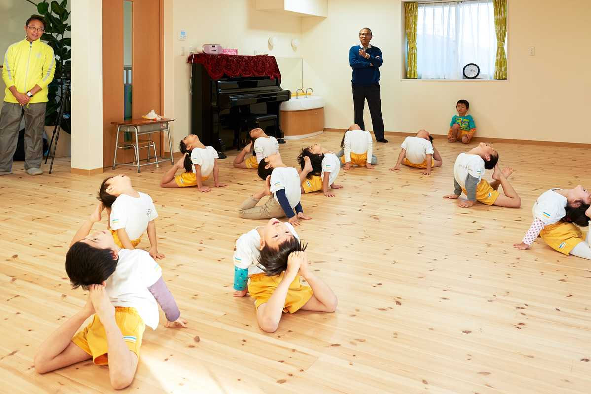 Gymnastics at Byobugaura Harukaze Nursery