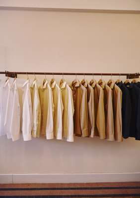 Cotton shirts at Maison Rucher