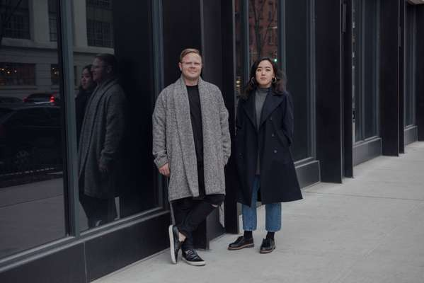 Matthew Breen and Andrea Tsao (2) Ripped cashmere jumper