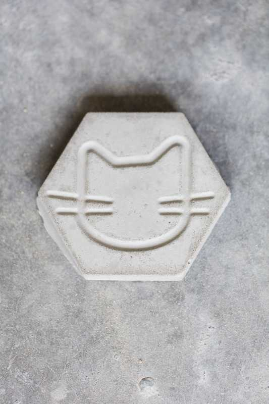 Concrete Cat tile