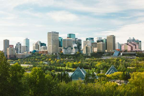 Edmontonians have plenty of green space in their city
