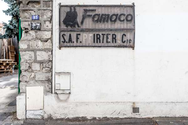 Entrance to Famaco