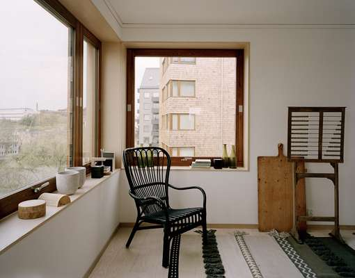 Corner of Arne Olsson's apartment