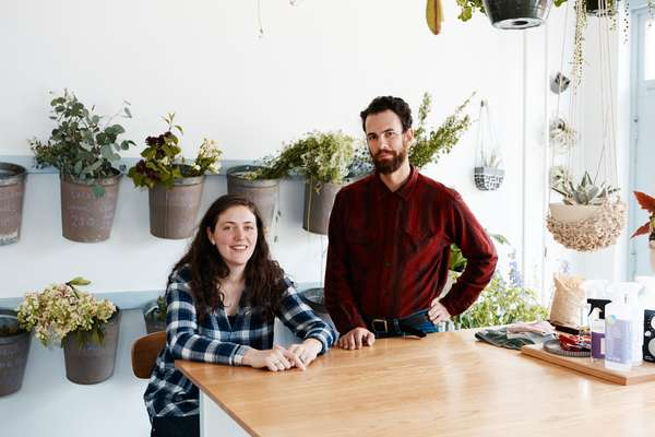 Flowerkraut owners Mairead and Seth Travins