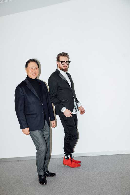Black Yak's Tae-sun Kang (left) and Maximilian Nortz