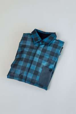 Plaid-patterned concept shirt from Gore