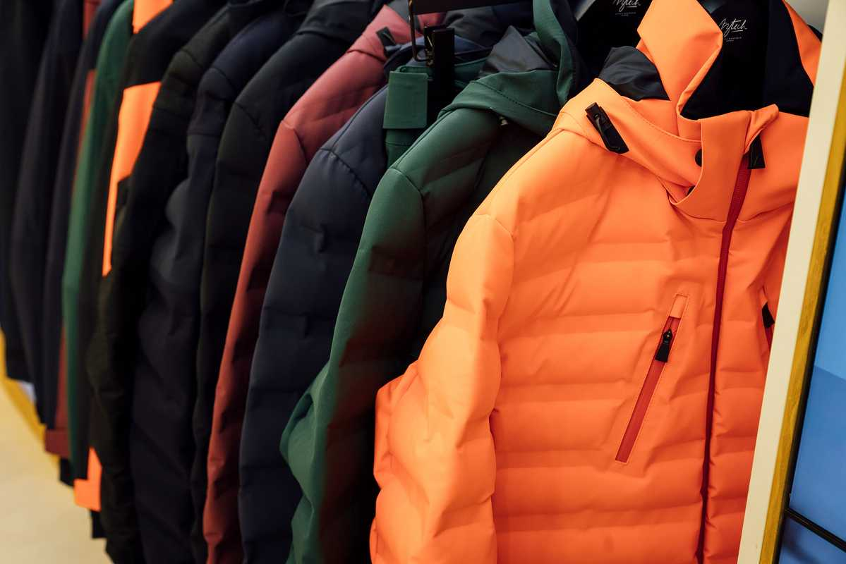 Aztech Mountain jackets about to fly off the rack