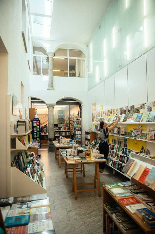 Independent bookshop Libreria Locarnese