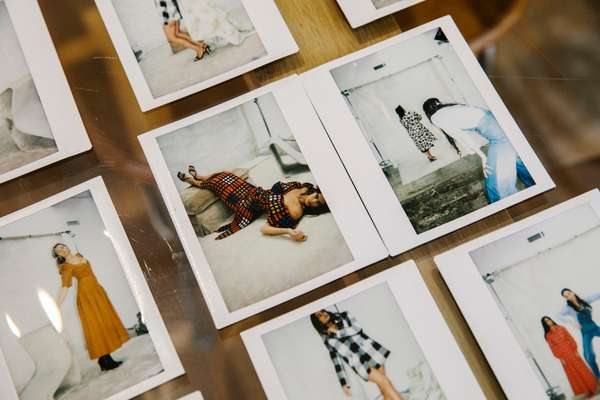 Lookbook polaroids