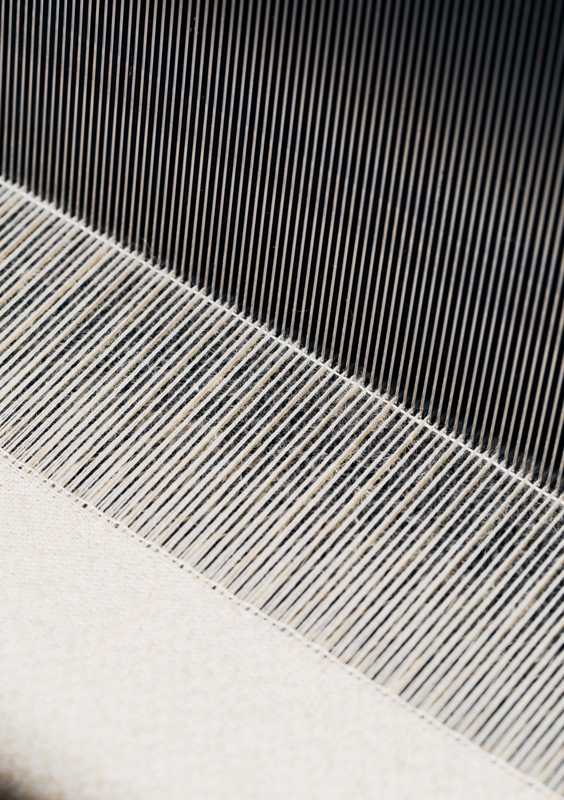 Close-up of Steiff's loom
