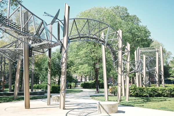 Carve designed this play park at Fredrik Hendrikplantsoen