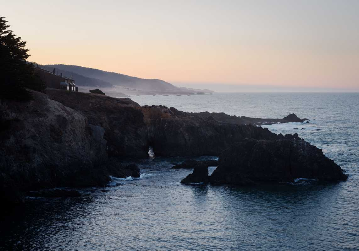 Sunrise on The Sea Ranch coastline