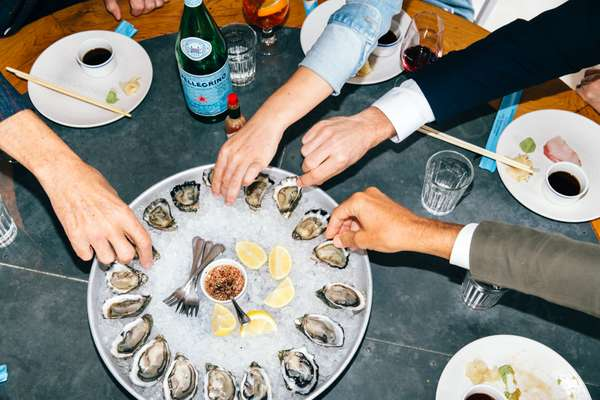 Let the oyster feast commence