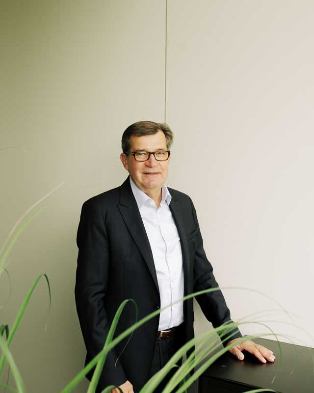 Gottfried Wanzl, chairman of the board