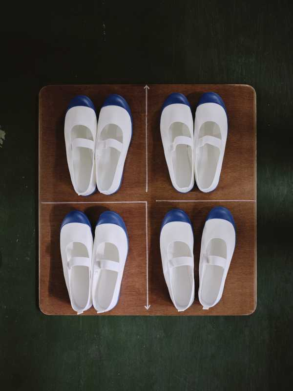 Uwabaki plimsolls for school children