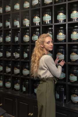 Laurianne Labeyrie, manager of tea brand and salon La Diplomate, Bordeaux
